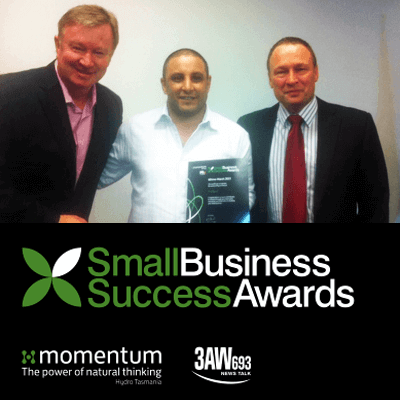 3AW Small Business Award